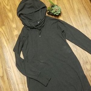 💎 Athleisure oversized hood tunic with pockets